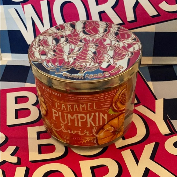 Bath & Body Works Other - Caramel Pumpkin Swirl Candle
